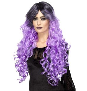 Glamour wig purple lilac