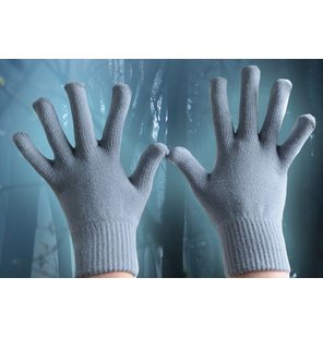 Gloves grey one size