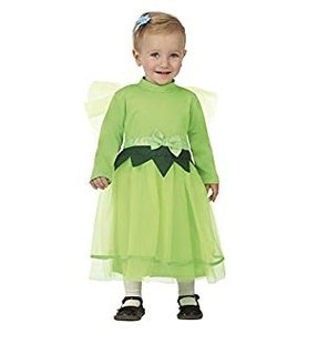Green Fairy Baby costume