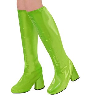 Green boot covers
