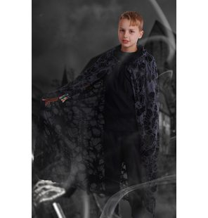 Halloween cape with mesh 105 CM Junior