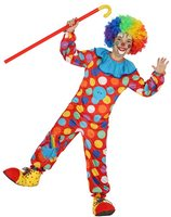 Clown jumpsuit voor kinderen AT-20832/20834/20837
