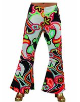 Hippie disco broek fantasy MA-206101-FAN