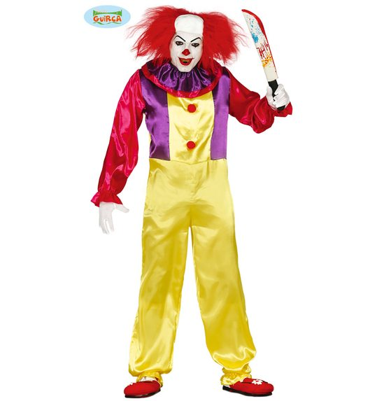 Horror clown jumpsuit