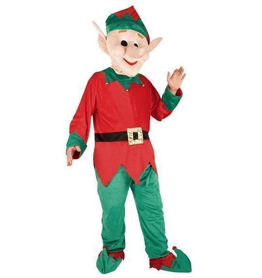 Kostuum plush giant Elf