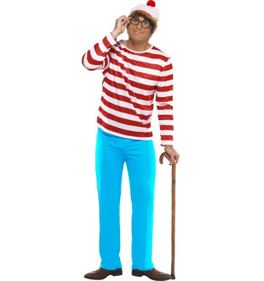 Waar is wally? kostuum