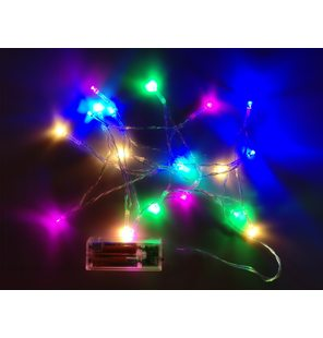 Led light multicolor 2 meters