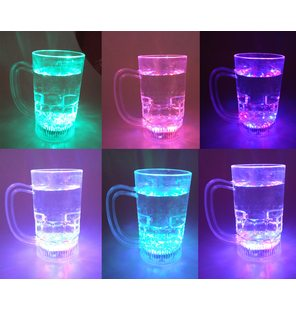 Lichtgevend bierglas glow in the dark