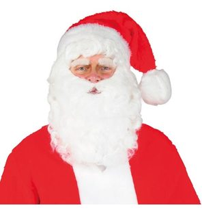 Luxury Santa Claus set with beard
