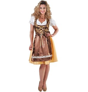 Luxury tyrolean dress