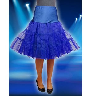 Luxury underskirt blue
