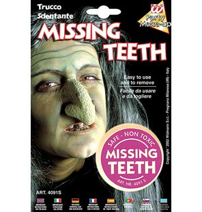Missing Teeth Make-Up