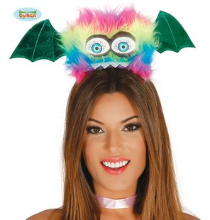 Monster tiara for halloween