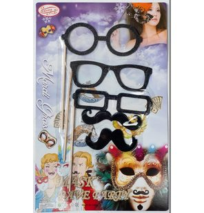 Mustaches on sticks / glasses on a stick