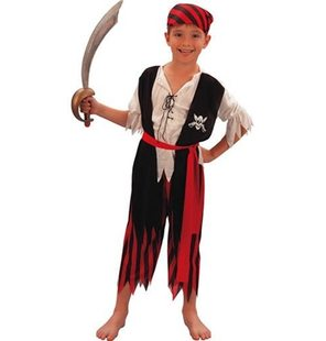 Pirate boy costume for kids