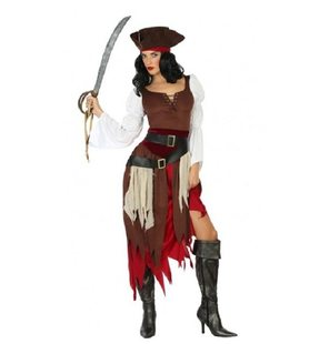 Pirate dress for ladies