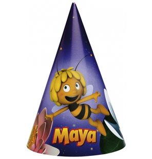 Point Hat Maya bee (6 pieces)