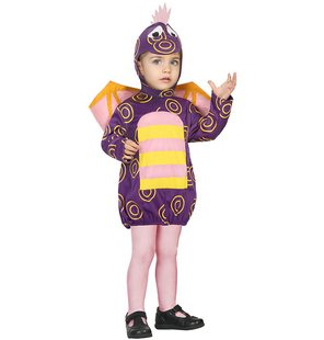 Purple baby dragon costume