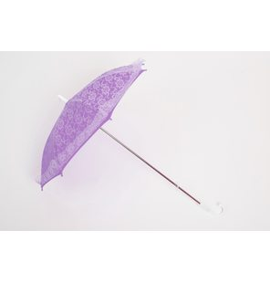 Purple lace umbrella