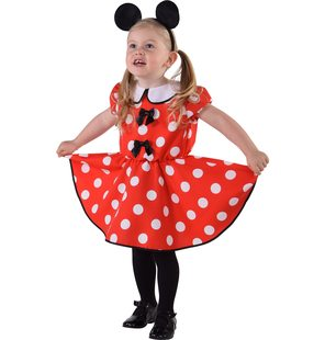 Robe de bébé Minnie Mouse