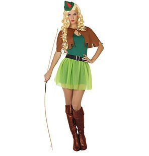 Robin hood Hunter ladies costume