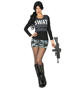 SWAT police ladies fancy dress