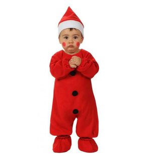 Santa Claus dress up costume for baby