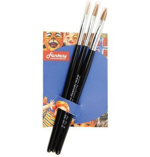 Set brushes 3 pieces
