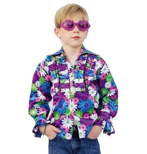 Shirt Disco Hippie for kids