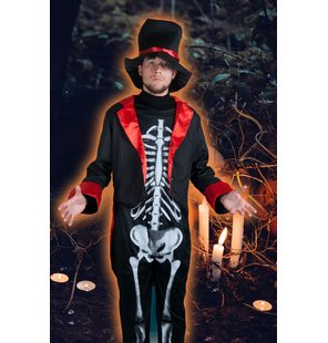 Skeleton costume Mister skully