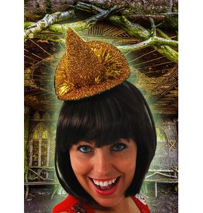 Small witch hat gold
