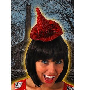 Small witch hat red