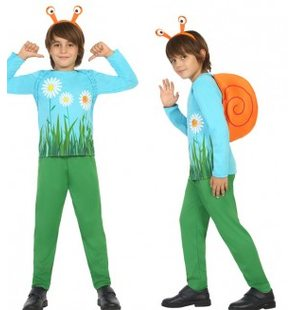 Snail costume for children