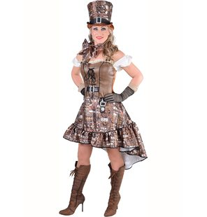 Steampunk dress for ladies sexy