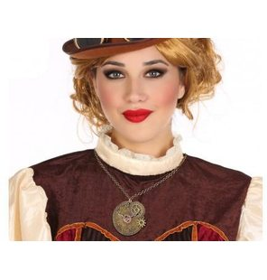 Steampunk halsketting