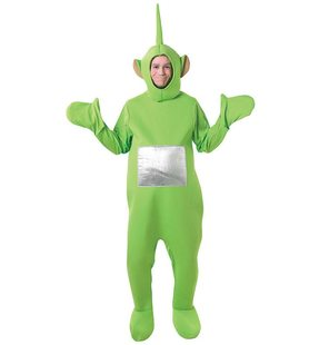 Teletubbie Dipsy facy dress costume Green