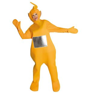 Teletubbie yellow Laa Laa fancy dress costume