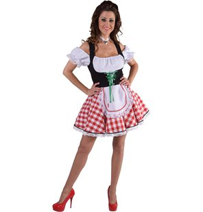 Tyrolean dirndl dress ladies