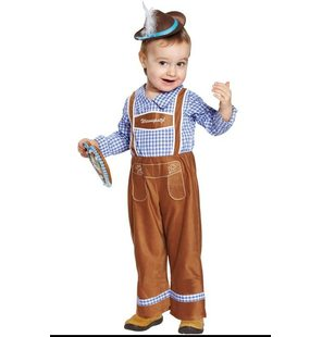 Tyrolean pants child Brown Peter