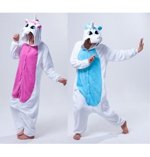 Unicorn onesie pale pink for children