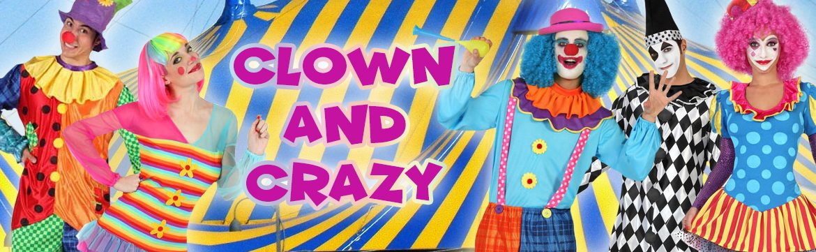 Clown en crazy