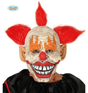 masque de crimi clown en latex