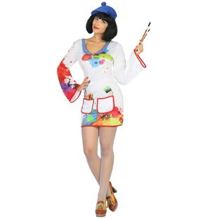 painter ladies costume