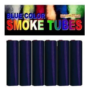 smoke tubes blue 15 gr 6 pcs