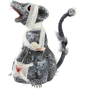 zombie rat decoration 24cm